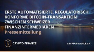 Crypto Finance AG, 21 Analytics