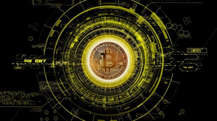 Illustration des Bitcoin-Symbols
