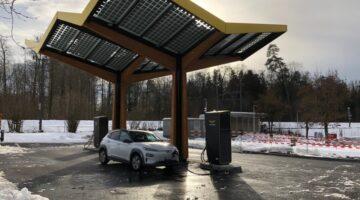 Zweite Schnellladestation von Fastned in der Schweiz eröffnet