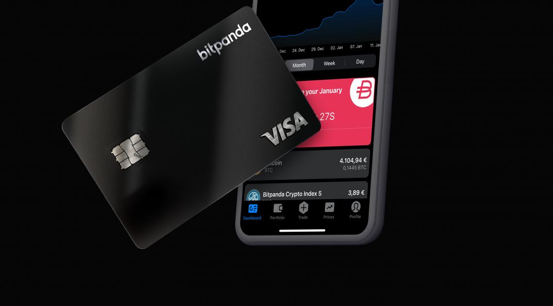 Mit der neuen Bitpanda Card können Nutzer erstmals ihre Investments sofort und überall ausgeben
