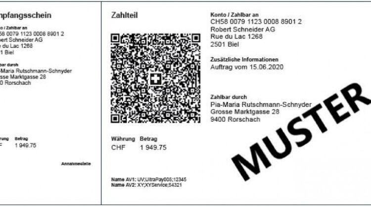 QR-Code ab September 22: Schweiz schafft klassische Einzahlungsscheine ab