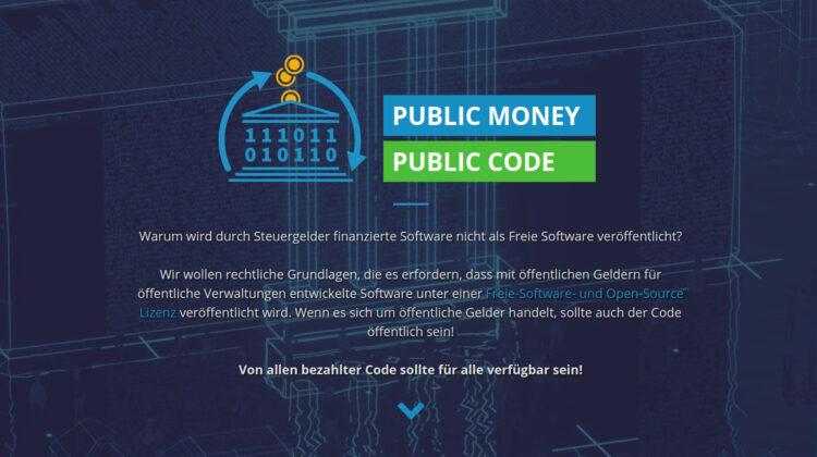 Warum wird durch Steuergelder finanzierte Software nicht als Freie Software veröffentlicht?