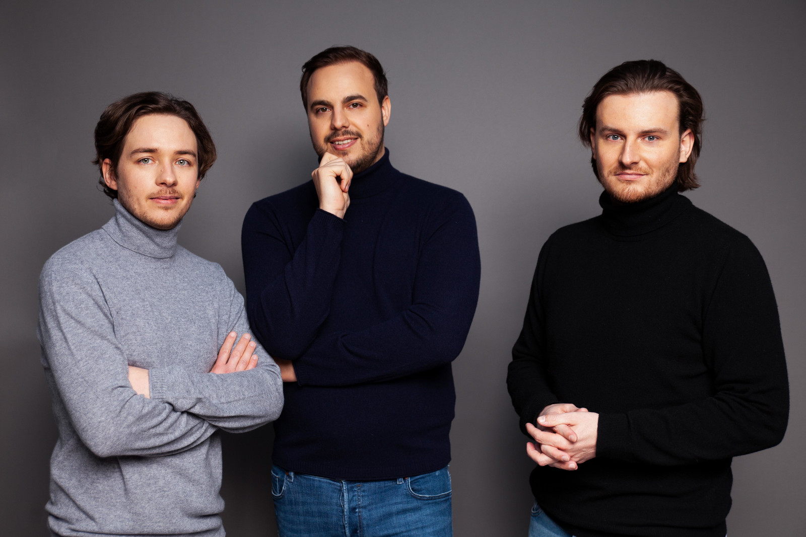 Gründer Christian Trummer, Paul Klanschek, Eric Demuth
