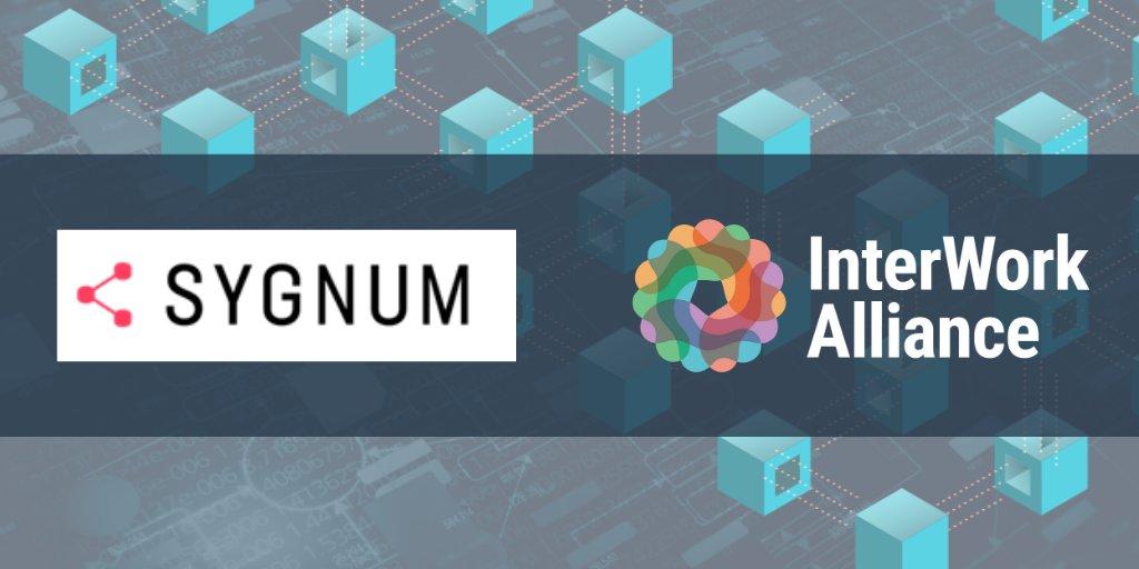 Die Sygnum Bank wird Mitglied der InterWork Alliance, um globale Tokenisierungsstandards zu schaffen