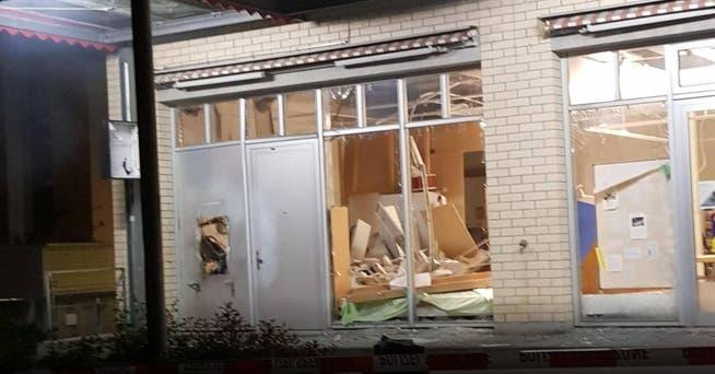 Solothurn: Bankomat gesprengt – die Polizei sucht Zeugen