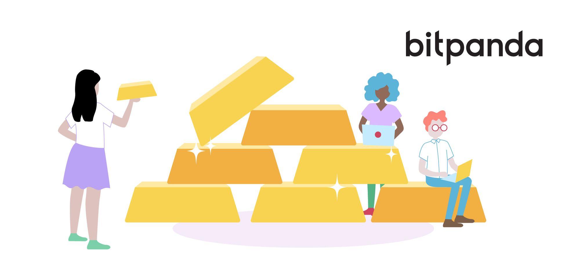 Wie bewahrt Bitpanda digitalisiertes Gold, Silber und andere Edelmetalle auf?