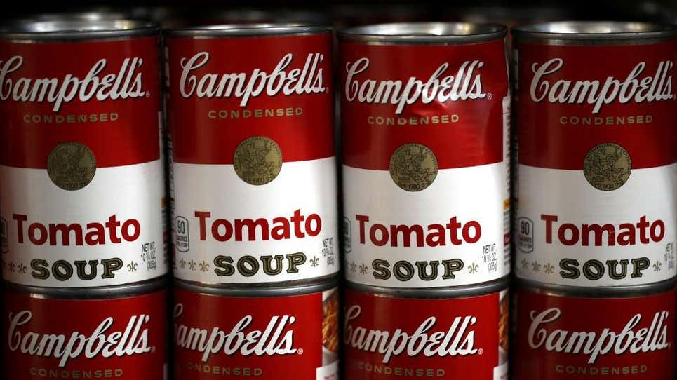 Since 1895, there has been exactly the same amount of soup in a can of Campbell's tomato soup. That's what makes this product so unique worldwide.