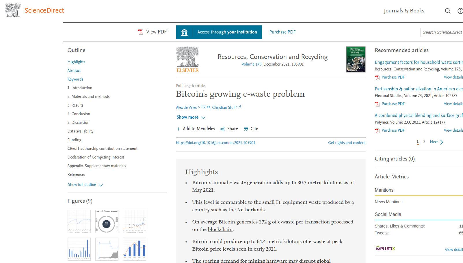 Universität Cambridge: Bitcoin Mining sorgt für 30'000 Tonnen Elektroschrott