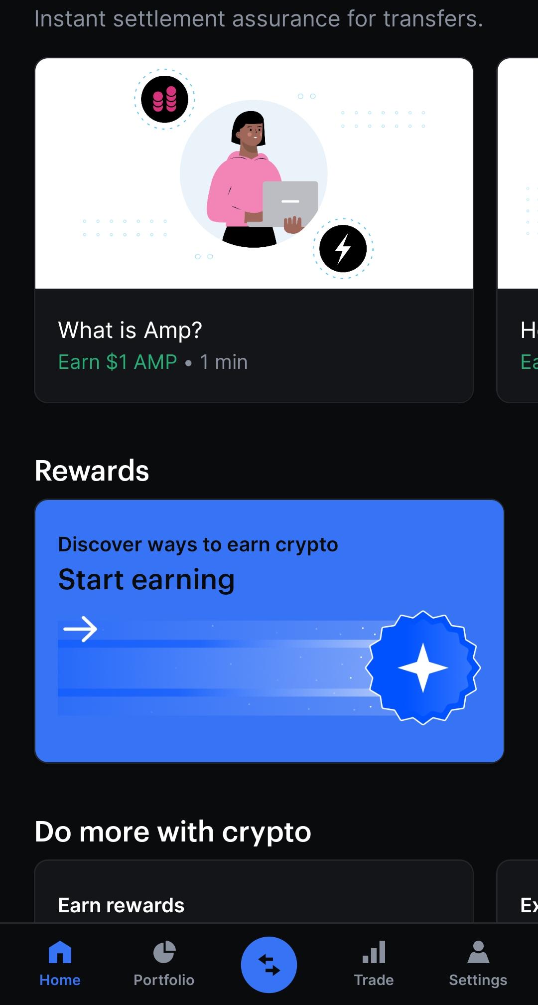 Warum Bitcoin kaufen, wenn man sich diverse Coins verdien kann? Hier ein Screenshot aus der Coinbase App, wo das richtige Beantworten von Mini-Quizes mit digitalen Währungen wie Bitcoin belohnt werden.