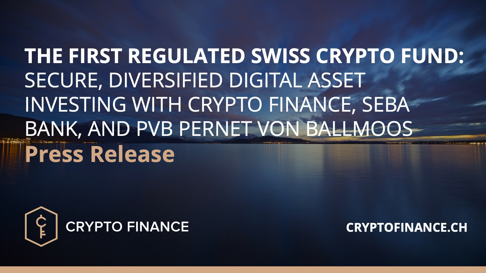 The first regulated Swiss Crypto Fund