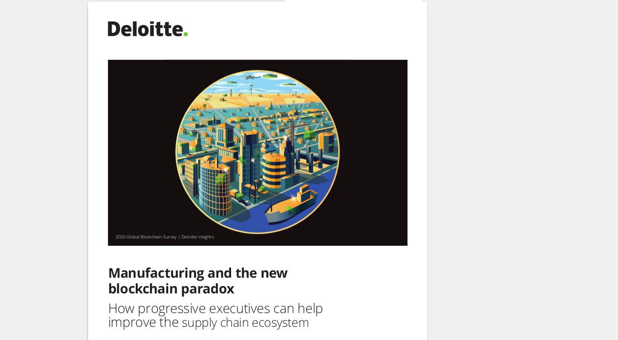 Der jährliche Global Blockchain Survey von Deloitte zeigt eine überzeugende Entwicklung der Blockchain von einer experimentellen, disruptiven Technologie zu einer echten strategischen Priorität für Organisationen.