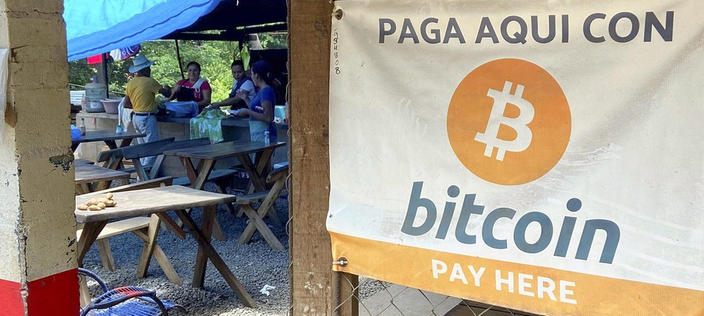 In El Salvador kann man seit dieser Woche in Bitcoin zahlen